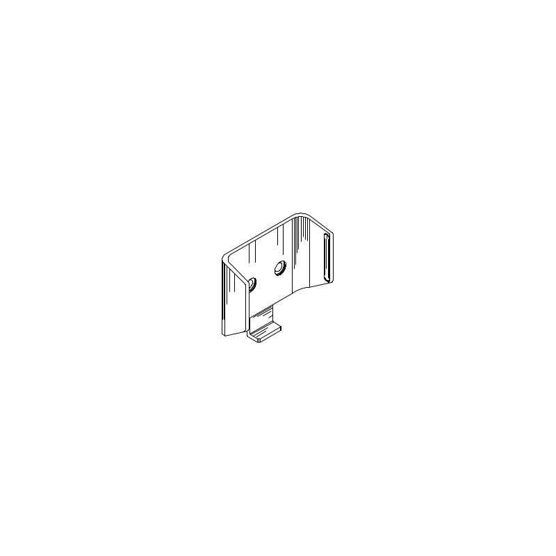Clip de montage, inclus dans le kit de montage
